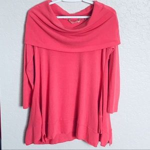 Soft Surroundings B'Call Coral Tunic - Sz PS